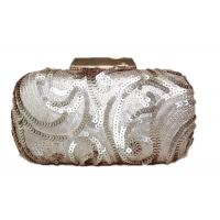 Buy cheap Multicolor Rose Gold Mesh Evening Bags Polyester Lining With 120cm Metal from wholesalers