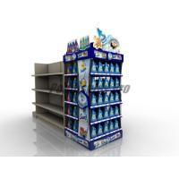 Buy cheap Curved Shelf Sustainable End Cap Shelving For Promoting Laundry Detergent from wholesalers