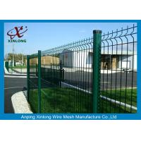 Buy cheap PVC Coated Bending Welded Wire Mesh Fence For Garden And Home from wholesalers