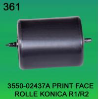 Buy cheap 3550-02437A / 3550 02437A / 355002437A PRINT FACE ROLLER FOR KONICA R1,R2 minilab from wholesalers