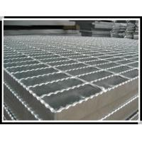 Buy cheap Hot dip galvanized steel gratings used for floor grating and walkway grating from wholesalers