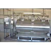 Buy cheap Compact CIP Washing System Machine For Drink Milk Plant Cleaning product