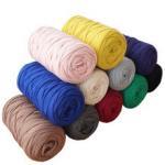 Buy cheap 210g/pcs Fancy Yarns For Hand Knitting Thick Thread Crochet Cloth Yarn DIY bag handbag carpet cushion Cotton Cloth T-Shi from wholesalers