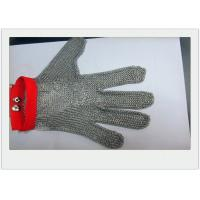 Buy cheap Cut Resistant Stainless Steel Gloves Metal Welded For meat industry from wholesalers