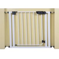 Buy cheap Custom Extra Wide White Kids Safety Gate For Babies, 75 * 85cm from wholesalers