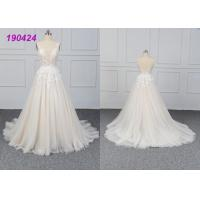 Buy cheap Beautiful Bridal A Line Ball Gown Wedding Dress Gowns Customize Made All Sizes from wholesalers