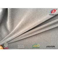 Buy cheap 4 Way Stretch Polyester Fabric , Brushed Poly Lycra Fabric For Sports Pants from wholesalers