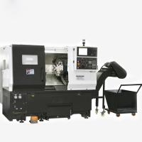Buy cheap TCK6336 TCK6340 Small Slant Bed CNC Lathe / CNC Turning Center φ520mm from wholesalers