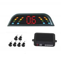 Buy cheap 6 Sensors CE Car Reversing Reverse Parking Kit Buzzer Alarm LED Display Parking Aid two front sensor four back up sensor product