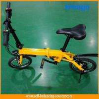 Buy cheap Lithium Battery 36V Electric Boost Bicycle Portable Electric Bike In Yellow from wholesalers