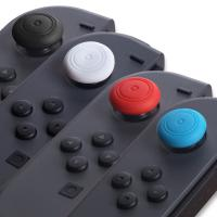 Buy cheap Simple Assorted Colors Round Silicone thumbstick caps For Nintendo Switch Joy Con Controller Thumb Grip from wholesalers