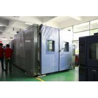 Buy cheap Stainless Steel Walk In Environmental Chamber For Vehicle Reliability Testing from wholesalers