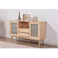 Buy cheap Simple Dining Room Storage Cabinet , Frosted Glass Door Storage Cabinet 600H from wholesalers