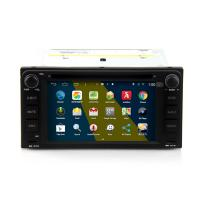 Buy cheap 2DIN HD android car dvd android 4.4.4 HD 1024*600 car DVD GPS for TOYOTA universal with WiFi Mirror link from wholesalers