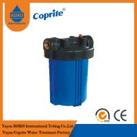 Buy cheap 10 Big Blue Filter Housing , PP Filter Housing RO Water Filter Parts Removes Dirt from wholesalers