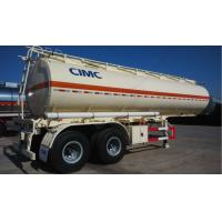 Buy cheap 425 / 65R22.5 Diesel Tank Trailer Mobile Fuel Trailers Single Tire Double Axles from wholesalers