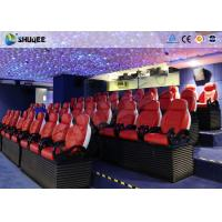 Buy cheap 3 Seats / Set Bearing 450Kg 5D Movie Theater For 39 Chairs Cinema Entertainment product