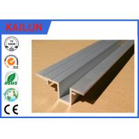 Buy cheap Elevator / Car Aluminum Door Threshold Extension , Aluminium Sliding Door Tracks from wholesalers