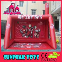 Buy cheap SP-1497 Hot Team Sports Game Popular Inflatable Football Goal from wholesalers