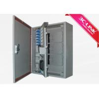 Buy cheap Outdoor Wall Mount PLC Splitter  Fibre Optic Terminal Cabinet/ Outdoor Fiber Cabinet from wholesalers