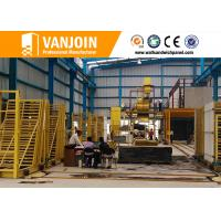 Buy cheap EPS Cement Sandwich Construction Material Making Machinery  / Brick Wall Panel from wholesalers