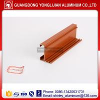 Buy cheap Aluminum extrusion profile wood finish wholesale price from wholesalers