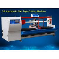 Buy cheap Automatic BOPP Film Jumbo Roll Cutting Machine , High Accuracy from wholesalers