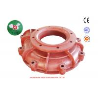 Buy cheap Centrifugal Frame Plate Slurry Pump Parts With ISO CE Certificate Industrial from wholesalers