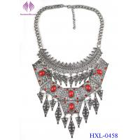 Buy cheap Fashion Vintage Boho Bohemia Turkish Tassel Women Bib Long Collar Necklace from wholesalers