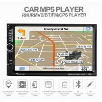 Buy cheap Ouchuangbo car mp5 with gps audio stereo support mirror link BT AUX usb SD from wholesalers
