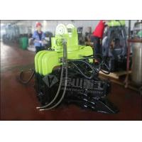 6m/min Speed Vibratory Pile Hammer , Sheet Pile Hammer For Volvo EC210 EC240 EC290