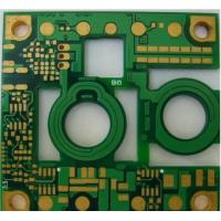 Buy cheap 6OZ multilayer 4 mil Min Annular Ring BGA Pitch PCB 0.012 Peelable board from wholesalers