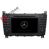 Buy cheap C Class W203 Mercedes Benz Car DVD Player Support Google Maps Online Navigating product