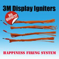 Buy cheap 3 M professional fireworks igniters, fireworks electric igniters, electric ematches, e-match igniters from wholesalers