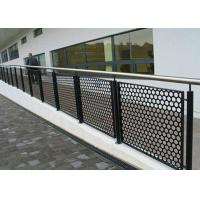 Buy cheap Carbon Steel or  Stainless Steel Stair Railing Perforated Metal Mesh from wholesalers
