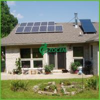 Buy cheap 2.5KW Residential Rooftop Grid Tied Solar Power System 50Hz / 60Hz from wholesalers