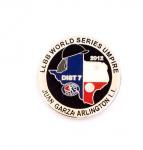 Buy cheap Die-struck lapel pin , Soft enamel badge , offset print lapelpin ,semi-cloissone pin  , hard enamel badge from wholesalers