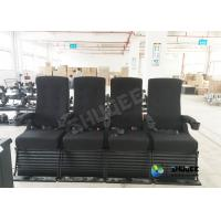 Buy cheap Vibration 4D Kino Seats In 4D Movie Theater With Special Effect For 3D Films product