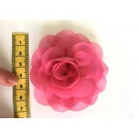 Buy cheap Rose Design Handmade Fabric Corsage Flower For UK High Street Shop Brand from wholesalers
