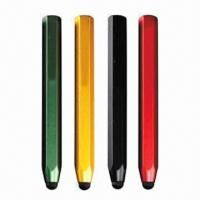 Buy cheap Capacitive Touchscreen Stylus Pens for iPad/iPhone, with Conductive Fabric Cloth Tip from wholesalers