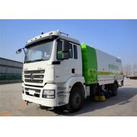 Buy cheap Four Broom Sweeper Truck , Street Sweeper Vacuum Truck For Road Cleaning from wholesalers