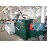 Buy cheap PVC Powder Wood Plastic Pelletizing Machine , Recycling Granule Extruder from wholesalers
