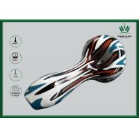 Buy cheap Borosilicate Colorful Glass Water Bongs 5mm Thickness Peking Opera Mask Printed from wholesalers