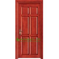 Buy cheap Mordern Timber Veneer Wood Door For Rooms, wood panel door design with wood door frame from wholesalers
