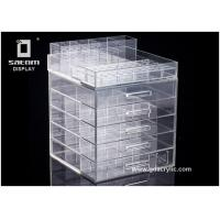 Buy cheap Classic 5 drawers Acrylic Cosmetic Makeup Organizer Detachable Structure from wholesalers