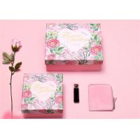 Buy cheap Luxury Rectangle Cardboard Paper Gift Packing Box With Custom Logo from wholesalers