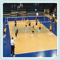 China portable volleyball court sports flooring on sale