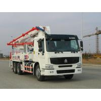 Buy cheap Safety Electronically Control Concrete Pump Truck Strong Stability With HOWO Chassis from wholesalers