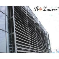 Quality Aerofoil sun louvers,sun shade aluminium louvers,aluminum window shutter for sale