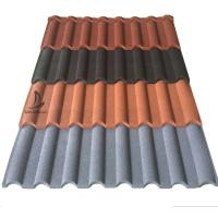 Buy cheap Roofing Sheet Factory Price Metro Tiles Standard Hot Sales in Africa Stone Coated Steel Step Roofing Sheets from wholesalers